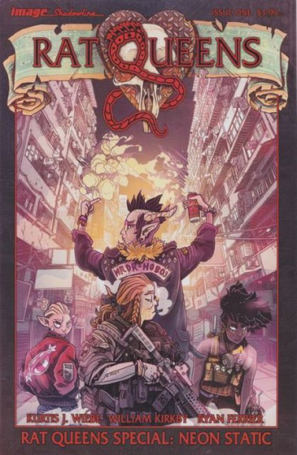 Image Comics Rat Queens Special: Neon Static #1 Comic Book