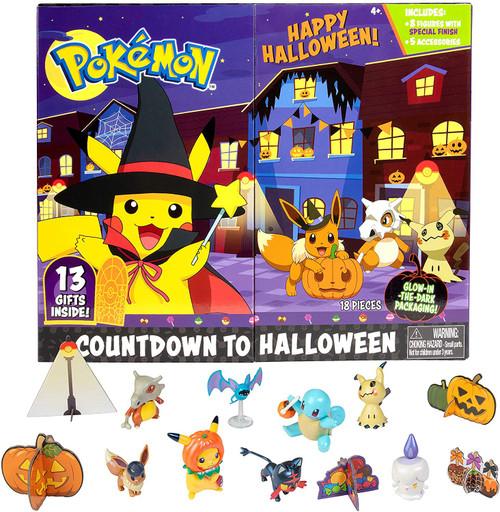 Pokemon 2021 Countdown to Halloween Advent Calendar