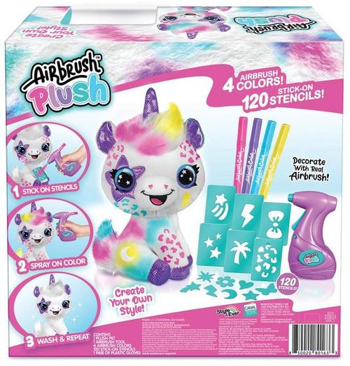 Airbrush Plush Unicorn Exclusive Activity Kit