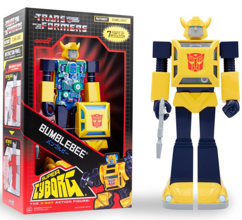 """Transformers Super Cyborg Bumblebee 3.75"""" Action Figure [Full Color] (Pre-Order ships December)"""