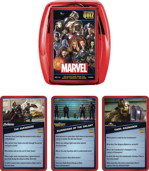 Marvel Cinematic Universe Quiz Game (Pre-Order ships January)