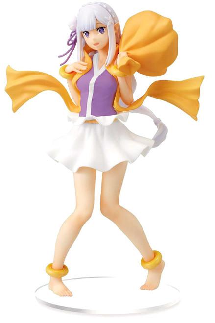 Sega Re: Zero Starting Life in a Different World Emilia 8-Inch Collectible PVC Figure (Pre-Order ships June)