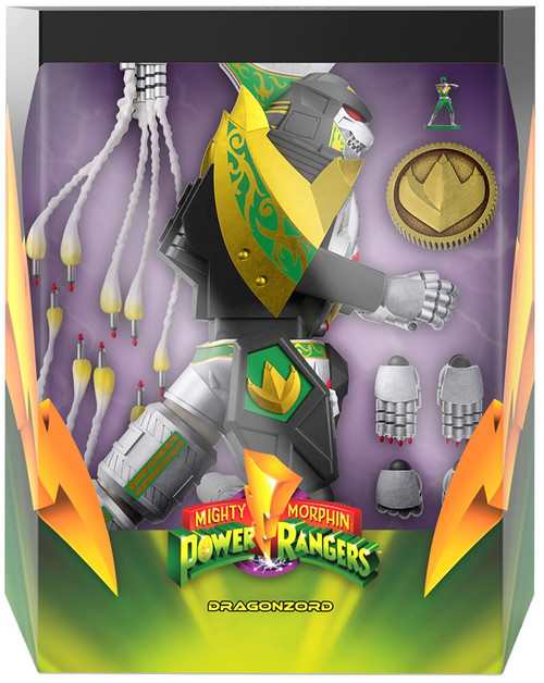 Mighty Morphin' Power Rangers Ultimates Dragonzord Action Figure (Pre-Order ships September)