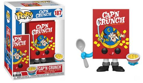 Funko Quaker Oats Cap'N Crunch Cereal Box Vinyl Figure (Pre-Order ships )