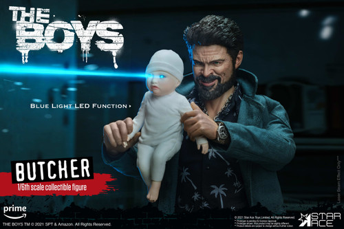 The Boys Billy Butcher 7-Inch Collectible Figure [Deluxe Version] (Pre-Order ships April)