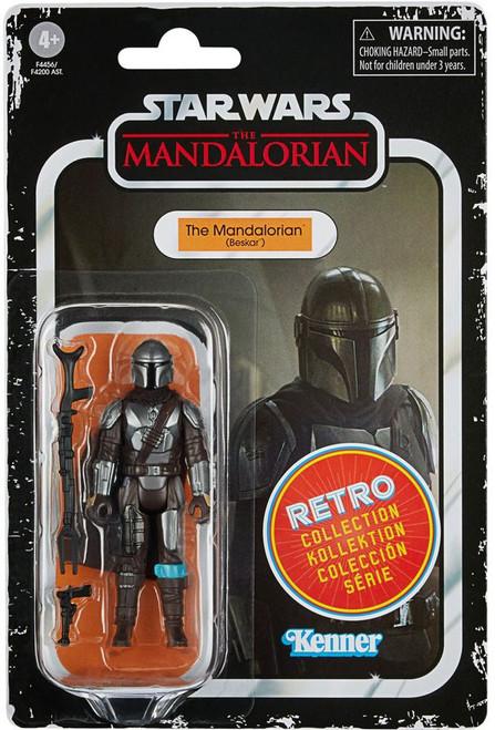 Star Wars Retro Collection Wave 2 The Mandalorian (Beskar) Action Figure (Pre-Order ships July)
