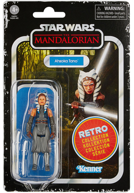 Star Wars The Mandalorian Retro Collection Wave 2 Ahsoka Tano Action Figure (Pre-Order ships July)