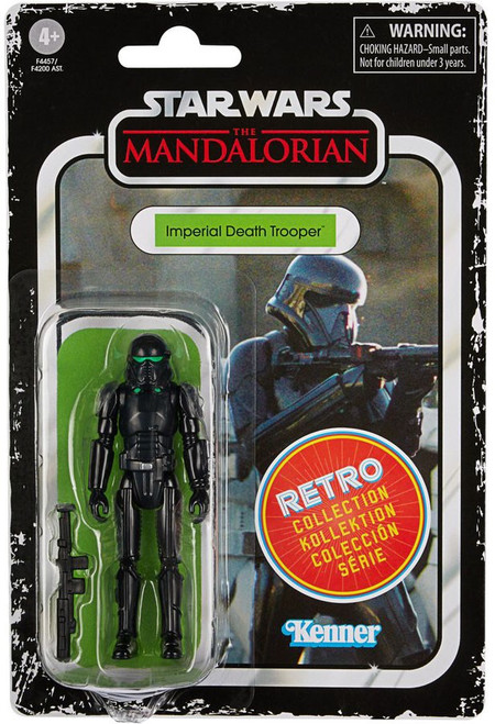 Star Wars The Mandalorian Retro Collection Wave 2 Imperial Death Trooper Action Figure (Pre-Order ships July)