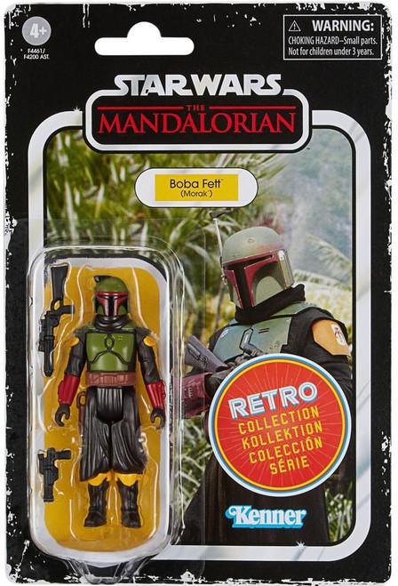 Star Wars The Mandalorian Retro Collection Wave 2 Boba Fett (Morak) Action Figure (Pre-Order ships July)