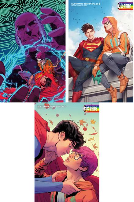 DC Comics Superman Son of Kal-El Covers A, B & C Set of 3 Comic Books #5 (Pre-Order ships November)