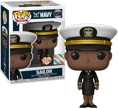 Funko Military US Navy Dress Uniform Female 1 Vinyl Figure (Pre-Order ships November)