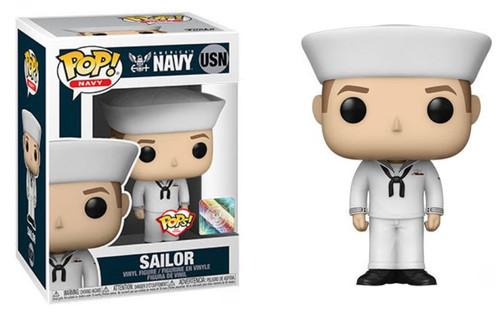 Funko Military US Navy Service Dress White Uniform Male 1 Vinyl Figure (Pre-Order ships November)