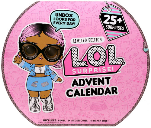 LOL Surprise 2021 LIMITED EDITION #OOTD Advent Calendar [25+ Surprises!]