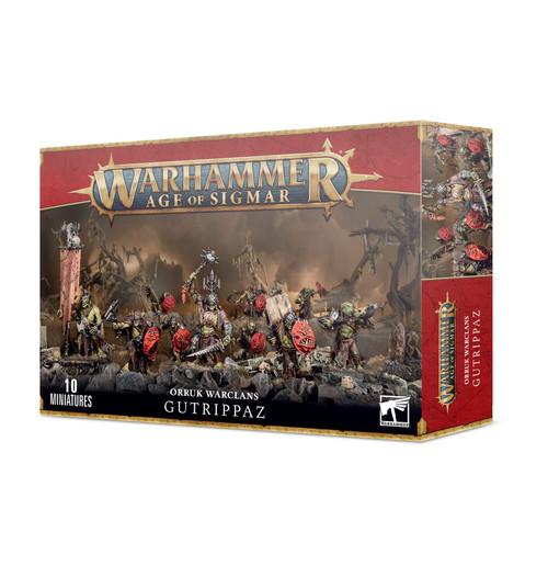 Warhammer Age of Sigmar Grand Alliance Destruction Orruk Warclans Gutrippaz