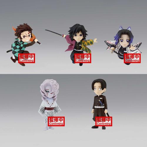 Demon Slayer: Kimetsu no Yaiba WCF Set 4 WCF 3-Inch Set of 5 PVC Figures [Set 4] (Pre-Order ships April)