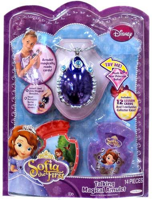 Disney Sofia the First Talking Magical Amulet Dress Up Toy