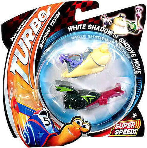 Turbo White Shadow vs Smoove Move Vehicle 2-Pack