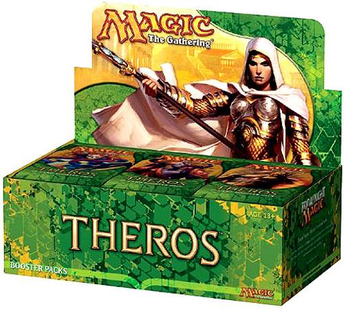 MtG Trading Card Game Theros Booster Box [36 Packs]