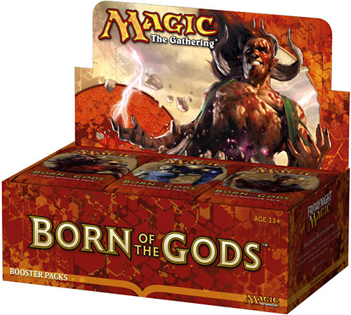 MtG Trading Card Game Born of the Gods Booster Box [36 Packs]