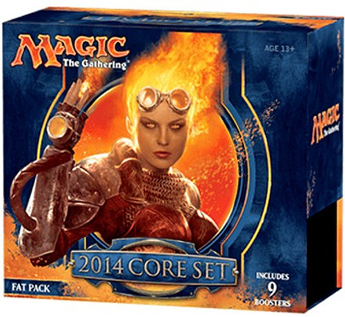 MtG Trading Card Game 2014 Core Set Fat Pack