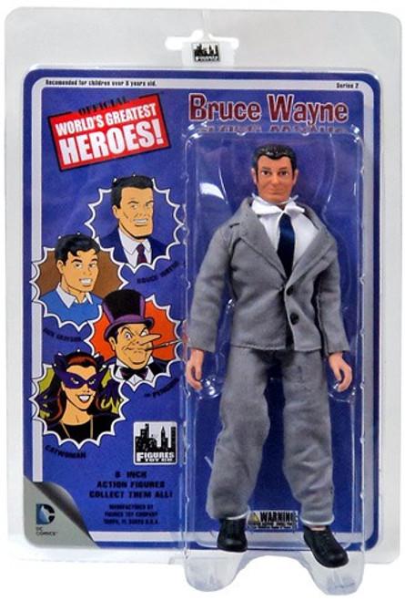 Batman World's Greatest Heroes Series 2 Bruce Wayne Action Figure
