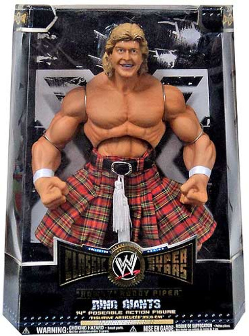WWE Wrestling Classic Superstars Ring Giants Rowdy Roddy Piper Action Figure