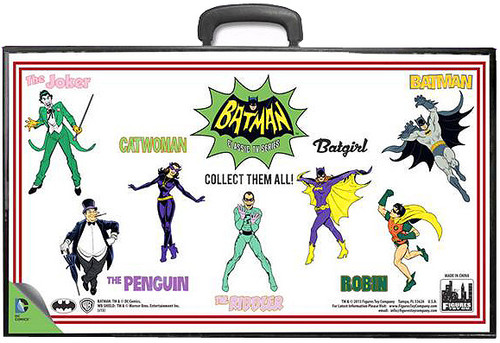 Batman Classic TV Series Full Body Comic Art Action Figure Case