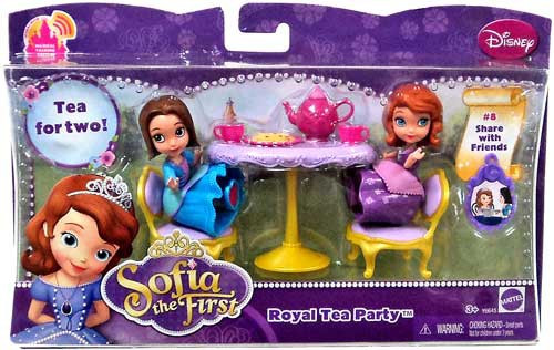 Disney Sofia the First Royal Tea Party 3-Inch Playset #8