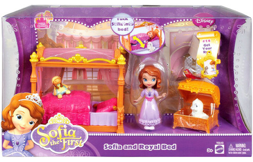 Disney Sofia the First Sofia and Royal Bed 3-Inch Playset #14