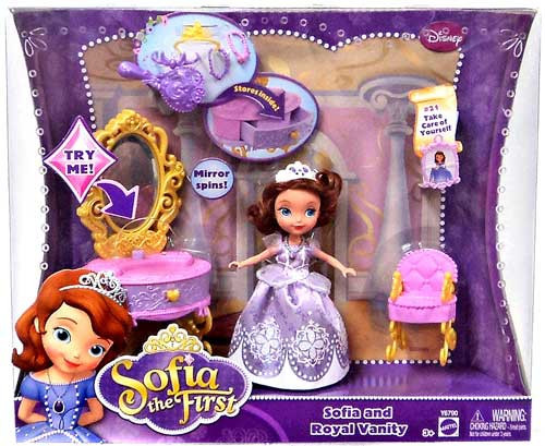 Disney Sofia the First Sofia and Royal Vanity Playset