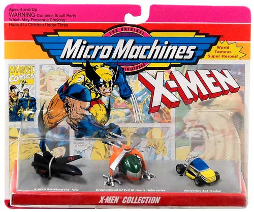 Micro Machines X-Men Collection Mini Vehicle Set