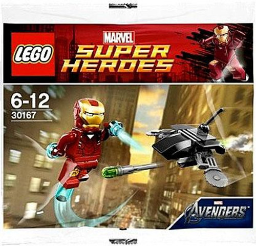 LEGO Marvel Super Heroes Avengers Iron Man Vs. Drone Exclusive Mini Set #30167 [Bagged]