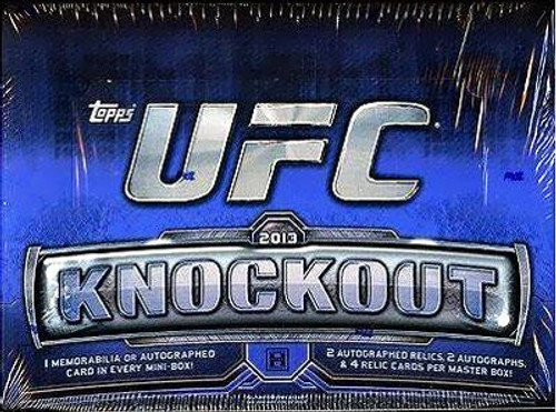 UFC Ultimate Fighting Championship 2013 Knockout Trading Card Box
