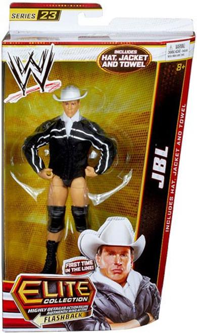WWE Wrestling Elite Collection Series 23 JBL Action Figure [Hat, Jacket & Towel]