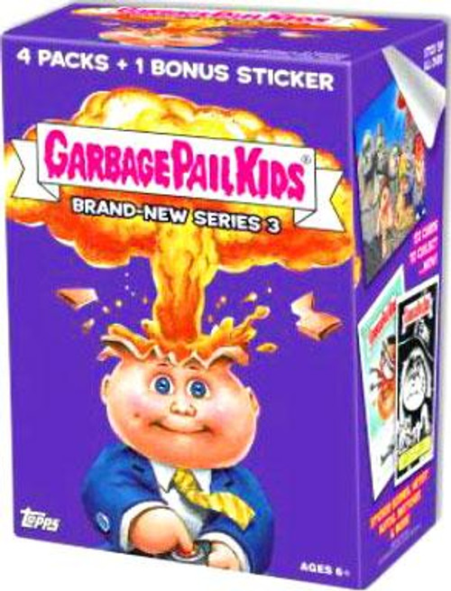 Garbage Pail Kids Topps 2013 Brand New Series 3 Trading Card Sticker VALUE Box [4 Packs]