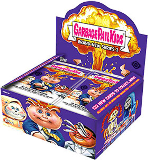 Garbage Pail Kids Topps 2013 Brand New Series 3 Trading Card HOBBY Box [24 Packs]