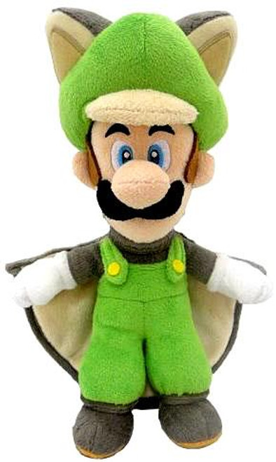 Super Mario Luigi 9-Inch Plush [Flying Squirrel]