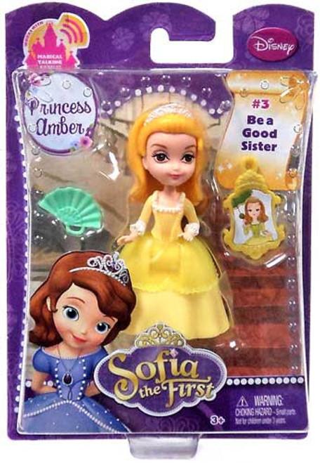 Disney Sofia the First Princess Amber 3-Inch Figure #3