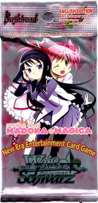 Weiss Schwarz Trading Card Game Puella Magi Madoka Magica Booster Pack [8 Cards]