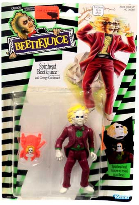 Spinhead Beetlejuice Action Figure