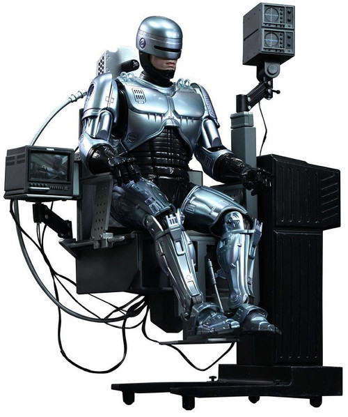 Movie Masterpiece Diecast Robocop Collectible Figure [Mechanical Chair version]