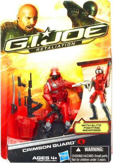 GI Joe Retaliation Crimson Guard Action Figure