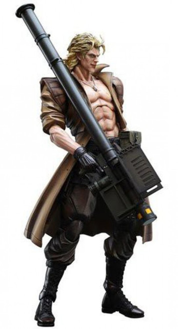 Metal Gear Solid 2 Sons of Liberty Play Arts Kai Liquid Snake Action Figure