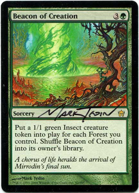 MtG Assorted Promo Cards Promo Beacon of Creation #74 [Artist Proof, Signed]
