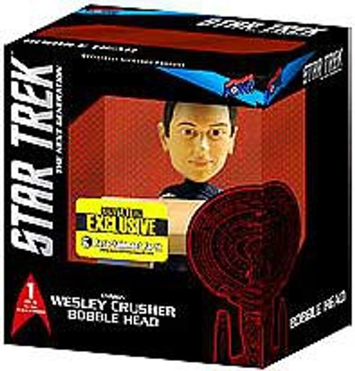Star Trek: The Next Generation Build a Bridge Wesley Crusher Exclusive 7-Inch Bobble Head