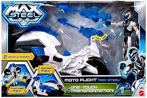 Max Steel Vehicle & Figure [Moto Flight]