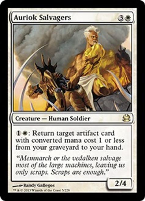 MtG Modern Masters Rare Auriok Salvagers #5