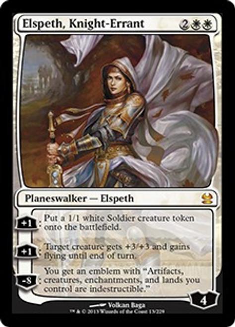 MtG Modern Masters Mythic Rare Elspeth, Knight-Errant #13