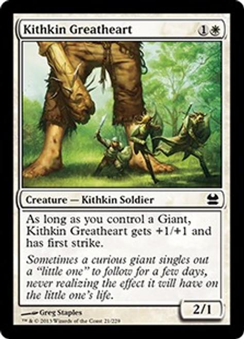 MtG Modern Masters Common Kithkin Greatheart #21