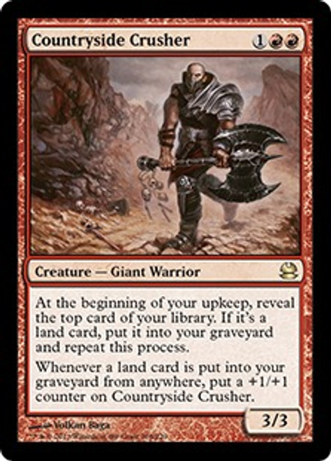 MtG Modern Masters Rare Countryside Crusher #108